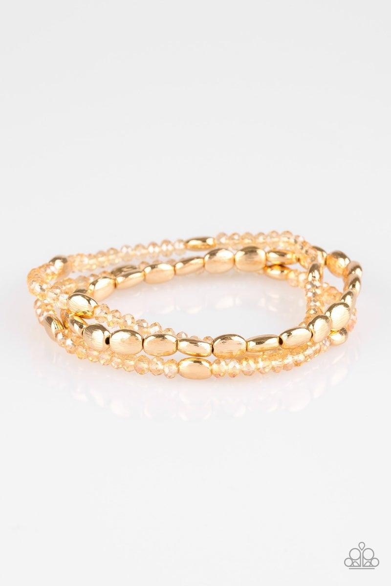 Hello Beautiful Gold Bracelet