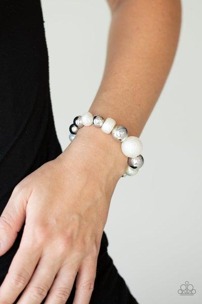 Starstruck Shimmer White Bracelet