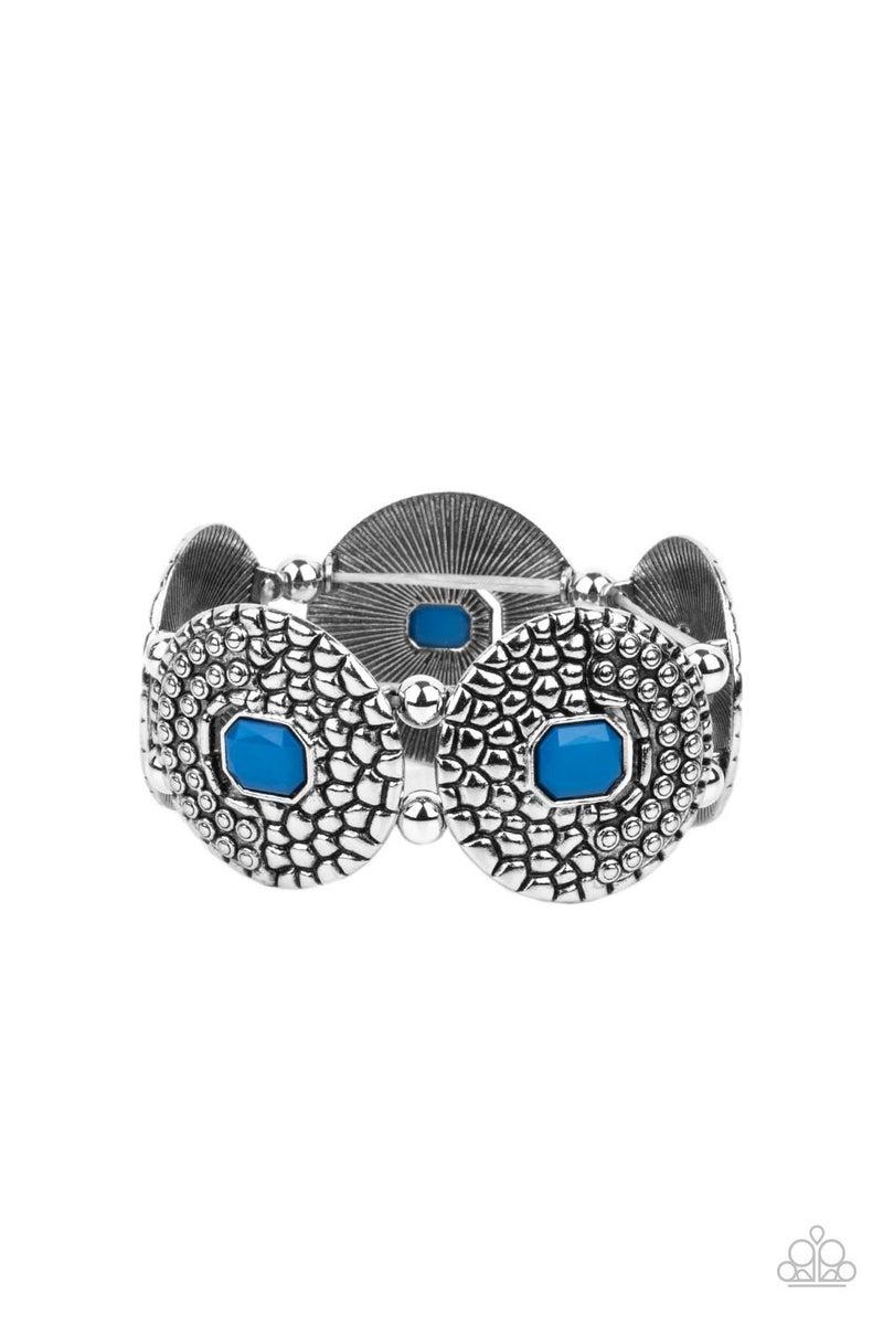 Prismatic Prowl Blue Bracelet