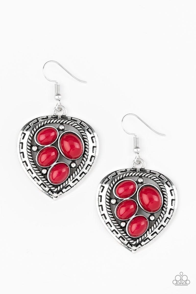 Wild Heart Wonder Red Earring