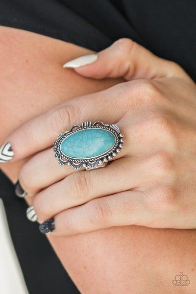 Open Range Blue Ring