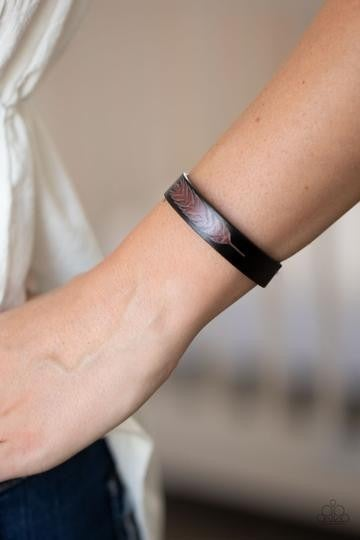 This Quill All Be Yours Black Urban Bracelet