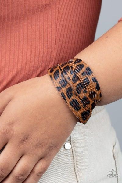 Hey GRRirl - Brown Urban Bracelet