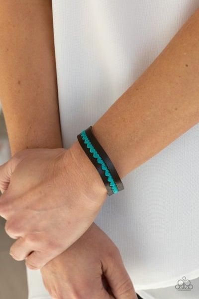Made With Love Blue Bracelet