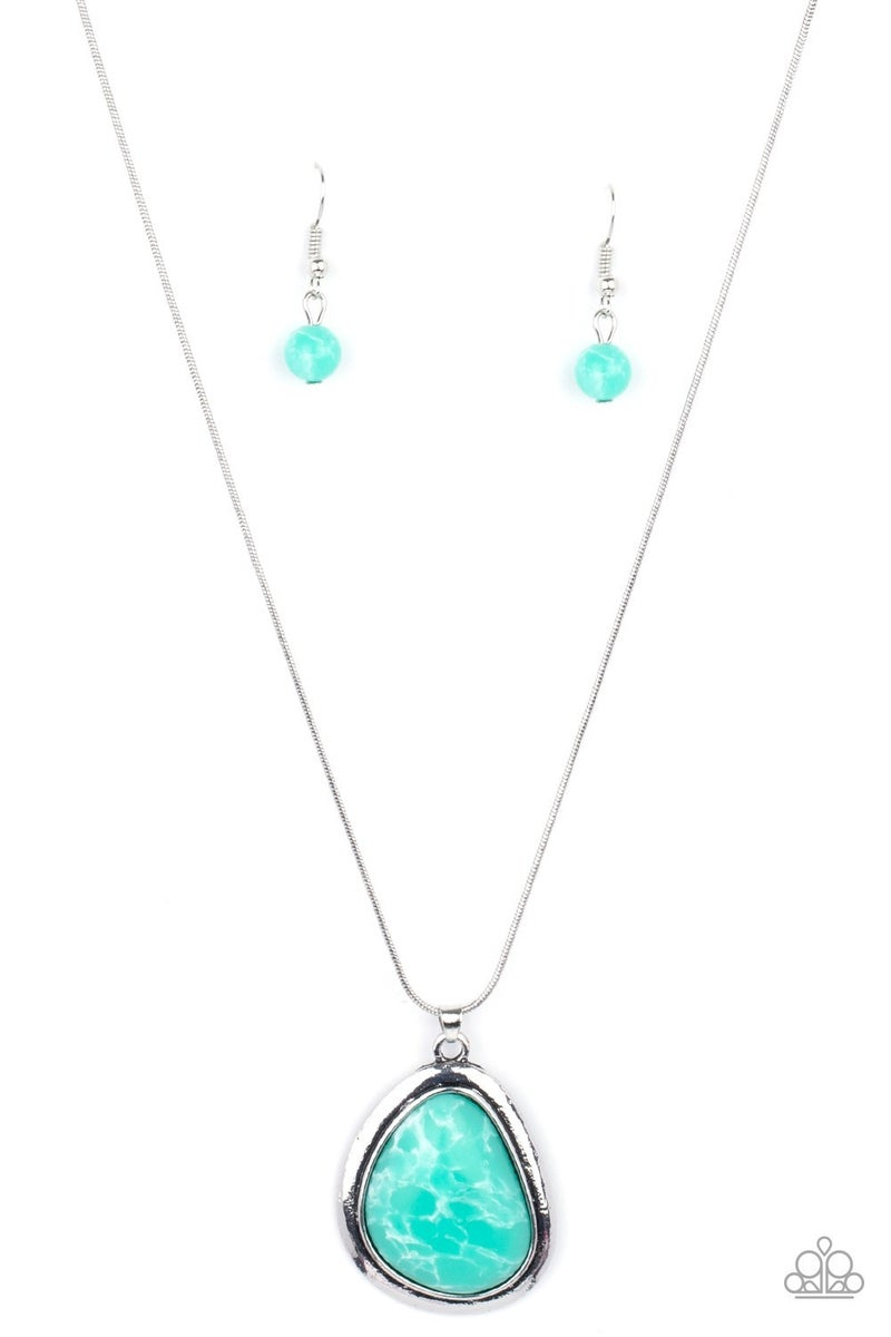 Canyon Oasis Green Necklace