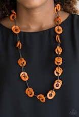 Waikiki Winds Necklace Orange