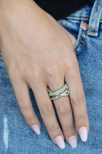 Forever Flawless Green Ring
