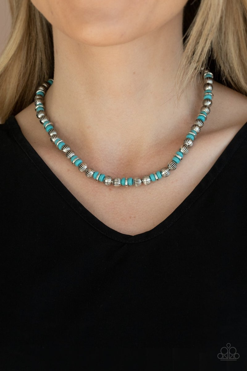 ZEN You Least Expect It Blue Necklace - Sparkle with Suzanna
