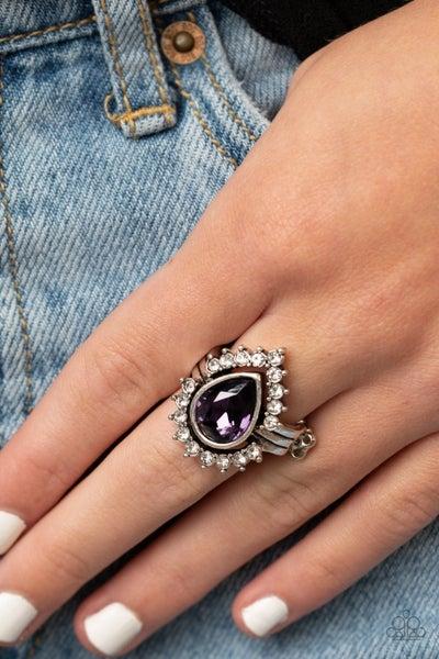 Make Your Trademark Purple Ring