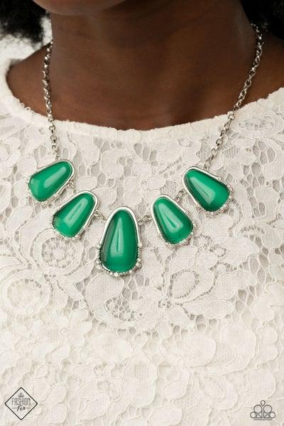 Newport Princess Green Necklace