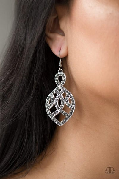 A Grand Statement Silver Earring
