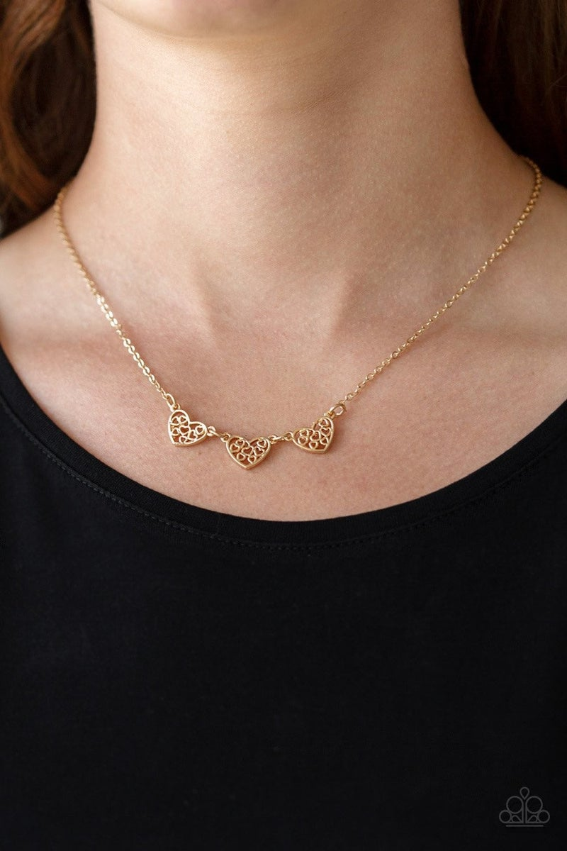 Another Love Story Gold Necklace