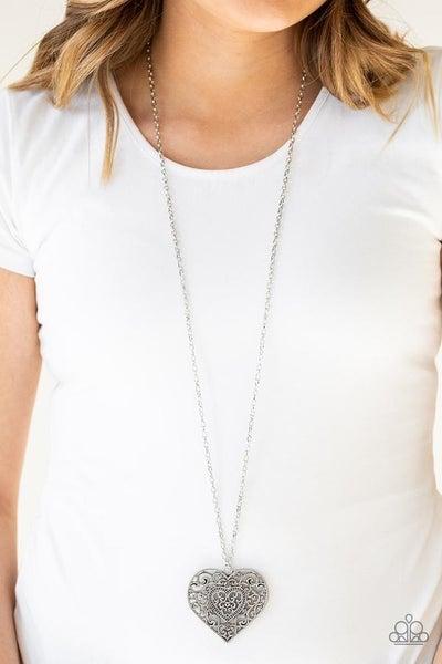 Classic Casanova Silver Necklace