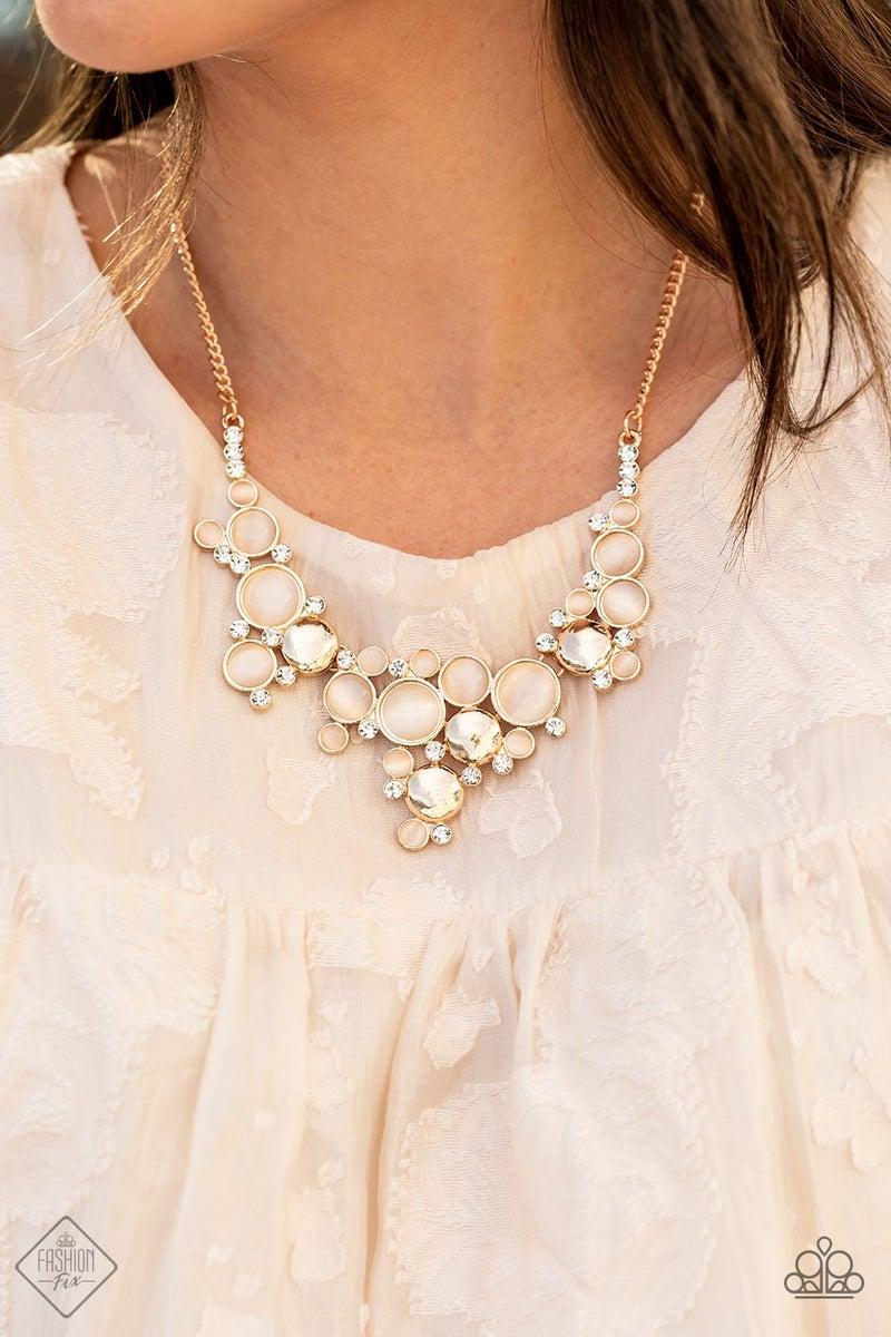 Fairytale Affair Gold Necklace - Fashion Fix