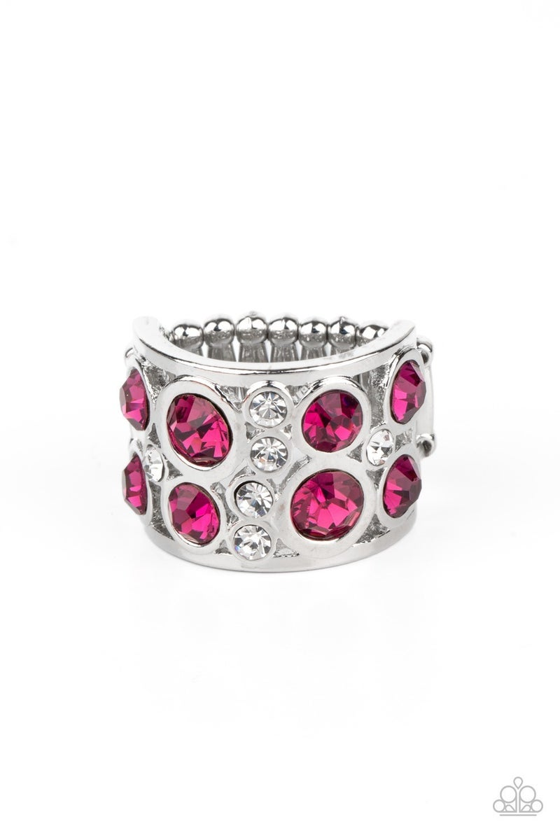 High Roller Royale Pink Ring - PREORDER