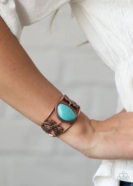 Sahara Seasons Copper Bracelet
