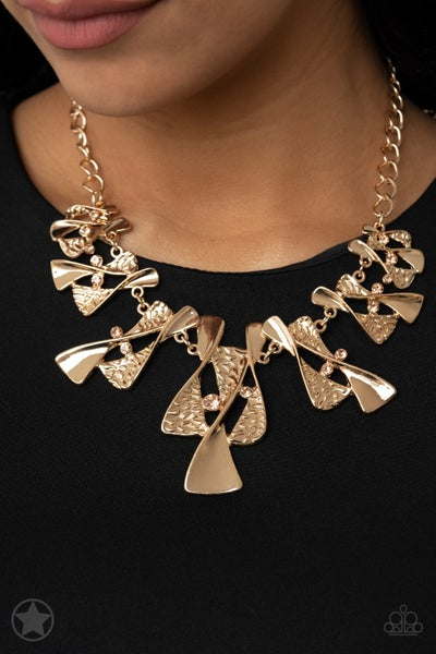 The Sands of Time - Gold - Necklace & Earrings - Blockbuster Exclusive