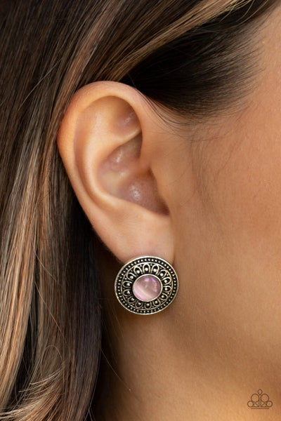 Fine Flora Pink Earring