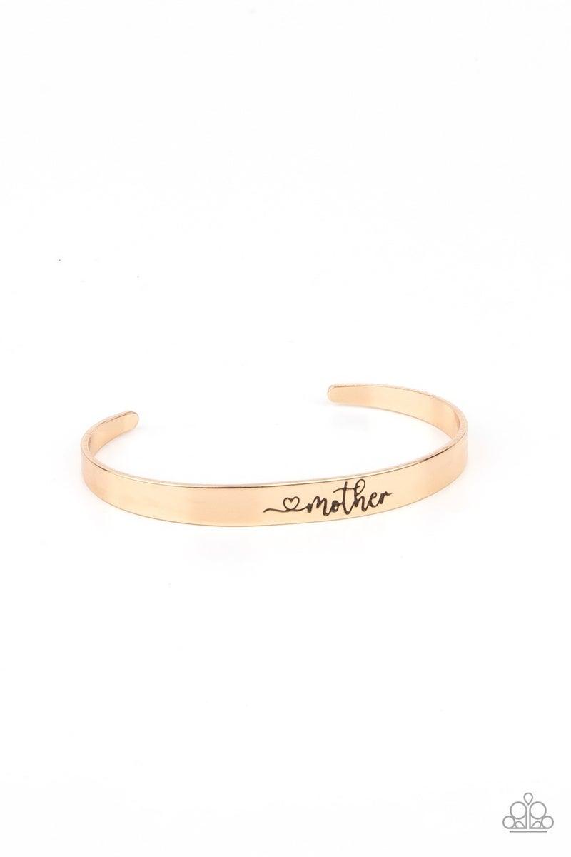Sweetly Named - Gold Mom Bracelet