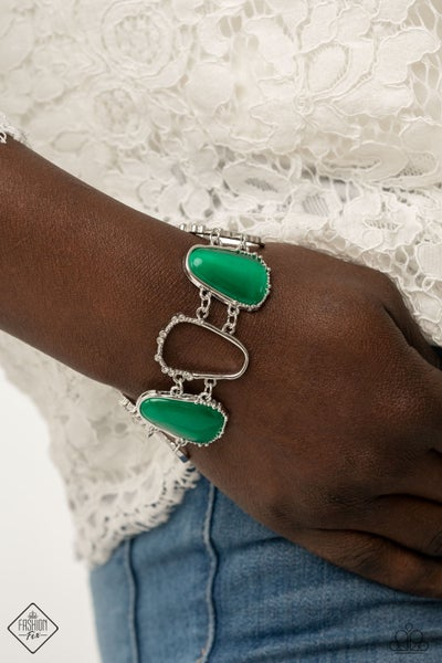 Yacht Club Couture Green Bracelet