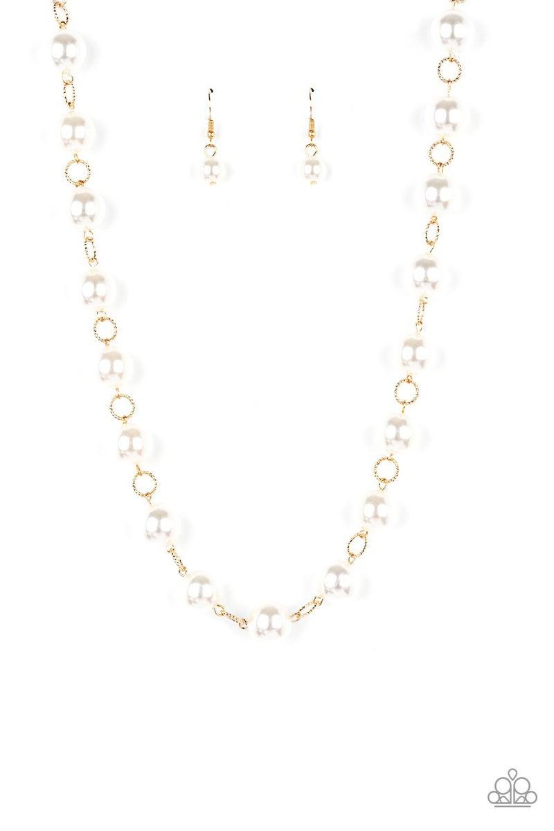 Ensconced in Elegance Gold Necklace