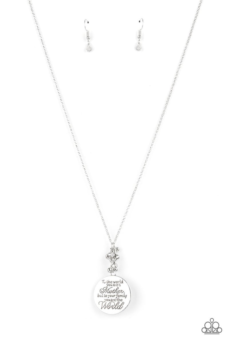 Maternal Blessings - White Necklace