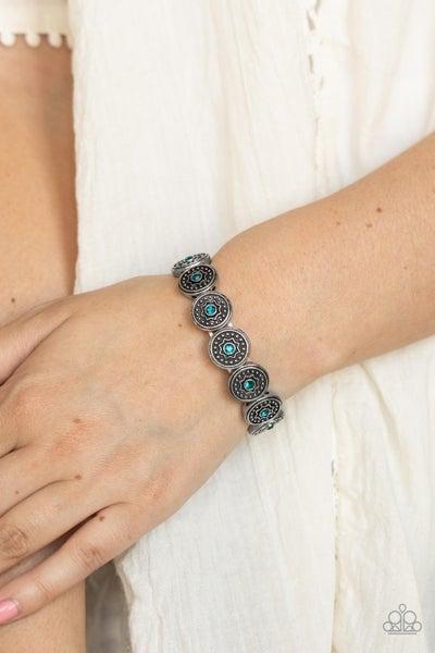 Colorfully Celestial - Blue Bracelet