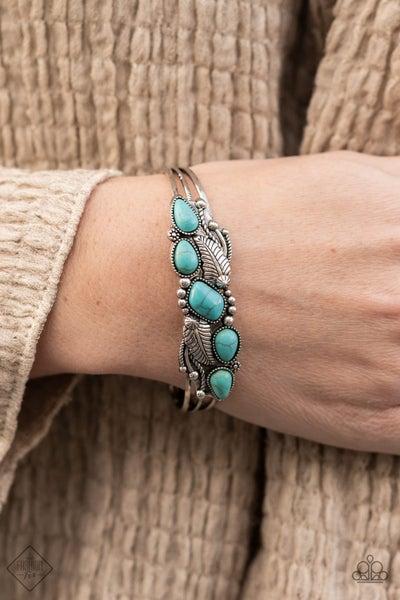 Cottage Living Blue Bracelet -Fashion Fix