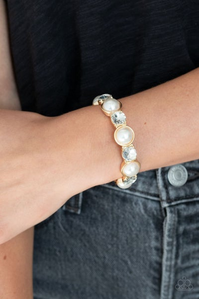 Elegant Entertainment Gold Bracelet _ Sparkle with Suzanna