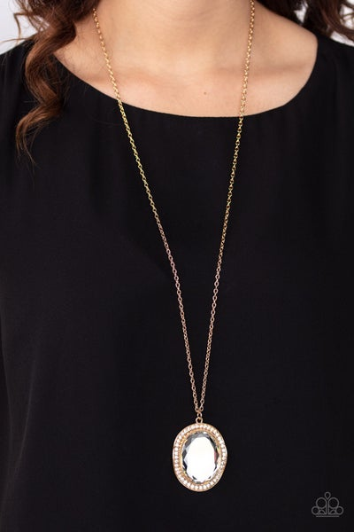 REIGN Them In Gold Necklace