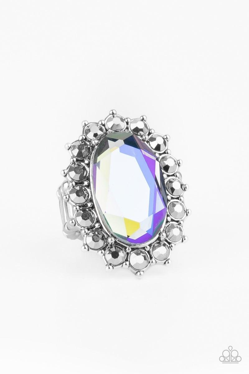 Bling Of All Bling  Iridescent Ring