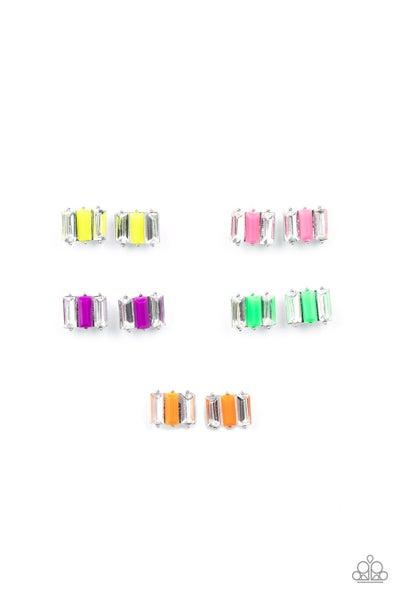 Starlet Shimmer - Neon Earrings