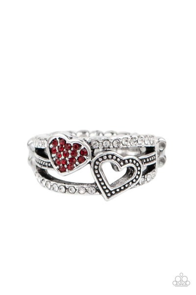 You Make My Heart BLING - Red