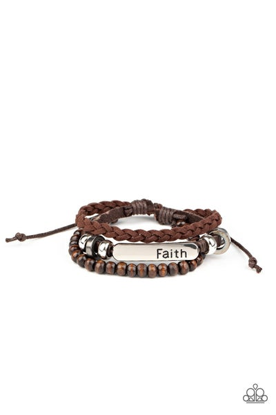 Let Faith Be Your Guide - Brown