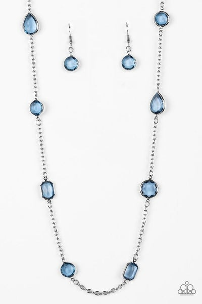 Glassy Glamorous - Blue