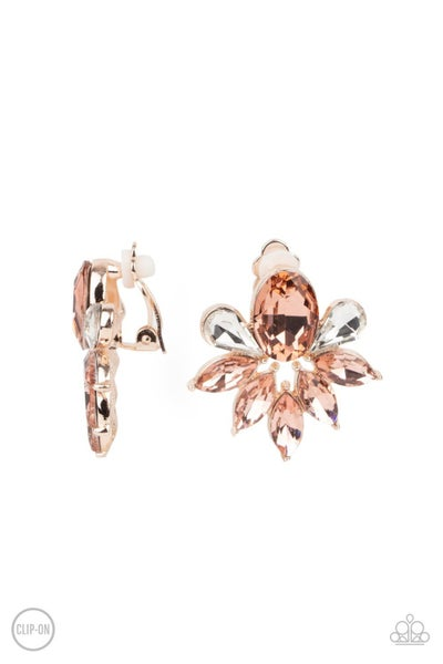 Fearless Finesse - Rose Gold Clip-On