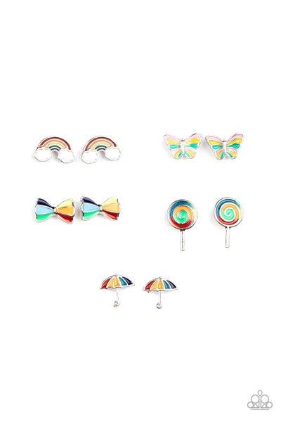 Starlet Shimmer - Multi Color Earrings