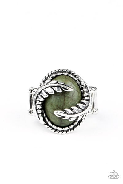 Palm Panache - Green