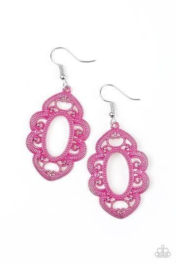 Mantras and Mandalas - Pink