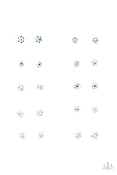 Starlet Shimmer - Snowflake Earrings