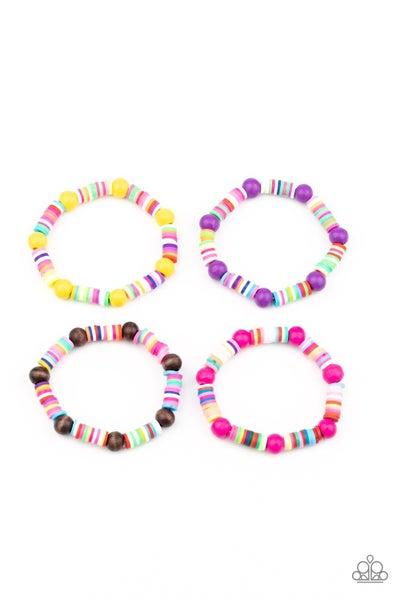 Starlet Shimmer - Multi Wood Bracelets