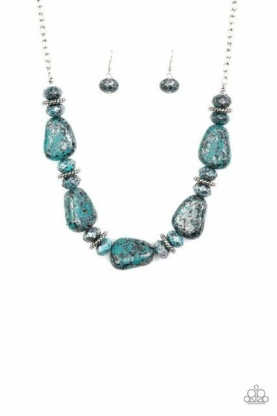 Prehistoric Fashionista - Blue