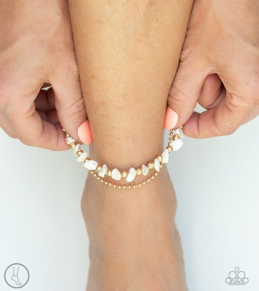 Beach Expedition Gold Anklet