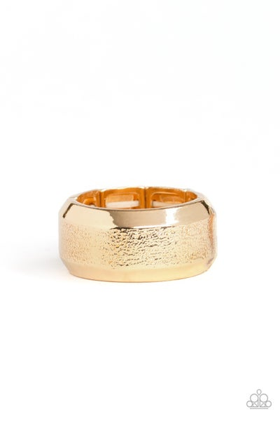 Checkmate Gold Ring