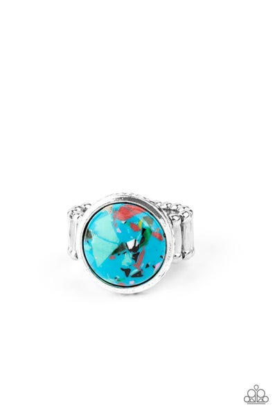 Marble Mosaic - Blue