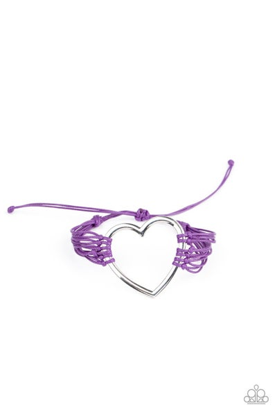 Playing With My HEARTSTRINGS - Purple