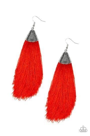 Tassel Temptress - Red