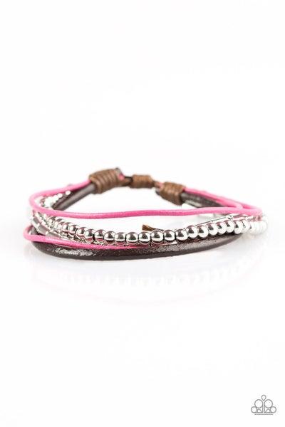 Gypsy Magic Bracelet - Pink