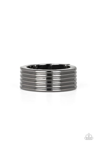 A Man's Man Black Ring