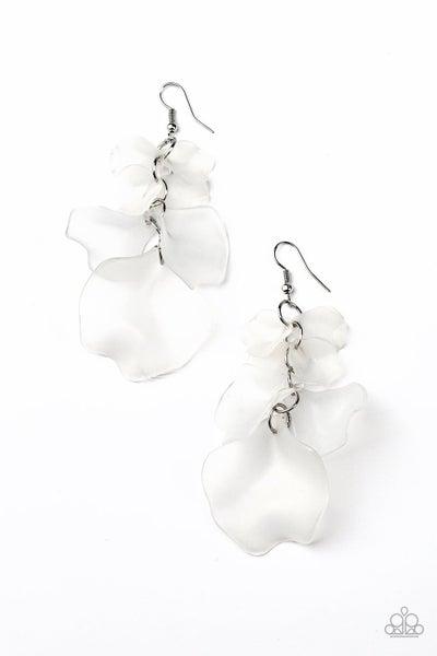 Fragile Florals - White